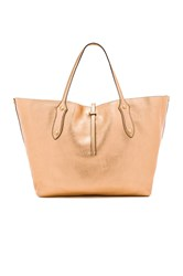 Annabel Ingall Large Isabella Tote Metallic Copper