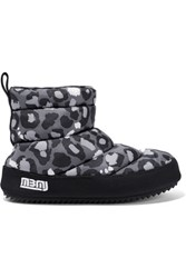 Marc By Marc Jacobs Leopard Print Quilted Shell Boots Multi