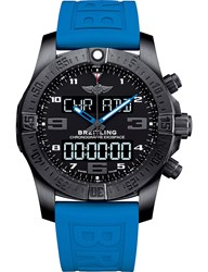 Breitling Vb5510h2be45235sv20dsa2 Cockpit 850 Automatic Titanium And Rubber Strap Watch