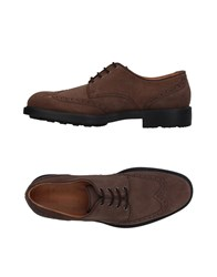 Moreschi Lace Up Shoes Brown